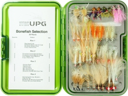Deluxe Bonefish Selection in UPG Fly Box
