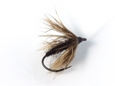 Fujioka Kebari - Soft Wet Hackle/Black