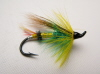 Green Highlander Hairwing Salmon Fly