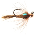 Jigged CDC Pheasant Tail Tungsten Bead Head Nymph